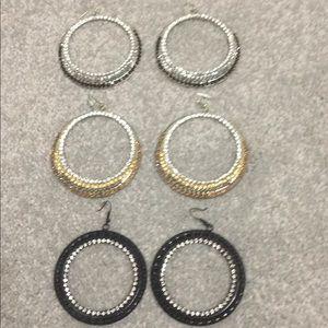 Bebe earrings bundle